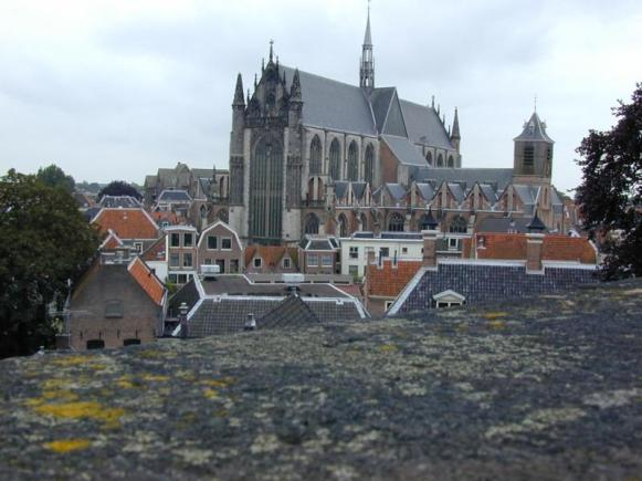 St. Peter's Church (Pieterskirk) in Leiden, given to the Separatists to use during their time in Holland before emigrating to Plymouth Colony