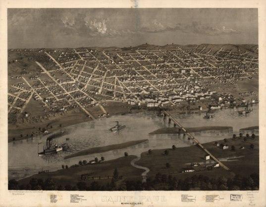 View of Saint Paul, 1867