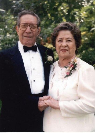 Alfred and Hortencia (Miramontes) Stoltz at daughter Debbie's Wedding