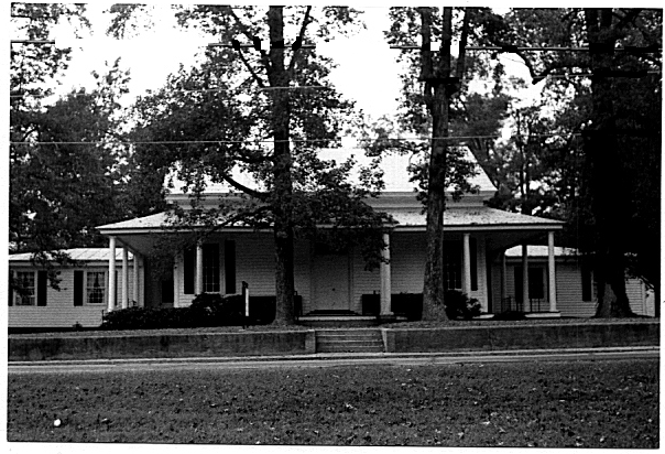 The Quaker Monthly Meeting House in Rich Square, Northampton County, North Carolina