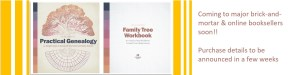 Practical Genealogy & Family Tree Workbook front covers