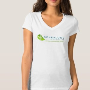 Genealogy Adventures Live women's t-shirt
