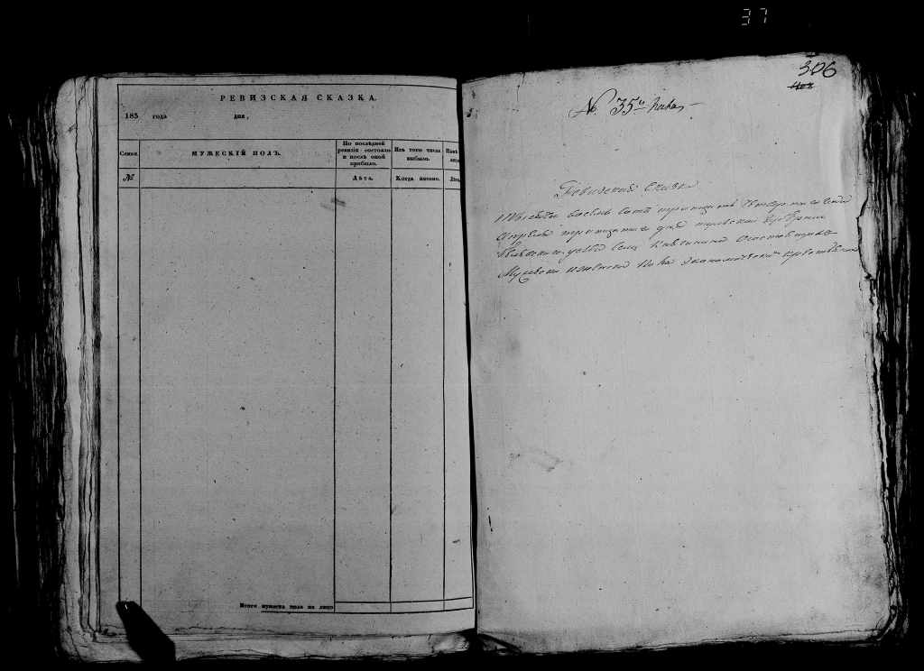 Ревизская сказка 1834 года, Княгинено