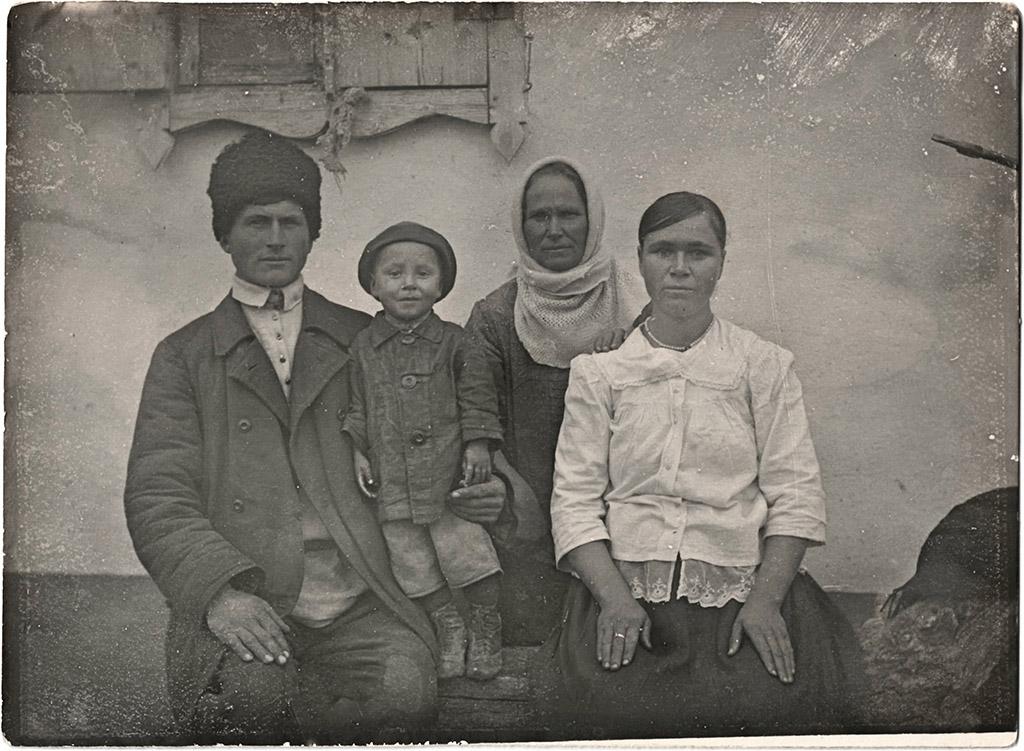 Иван Акимович Суббота и его семья