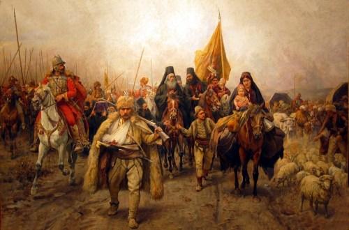 Переселение сербов
