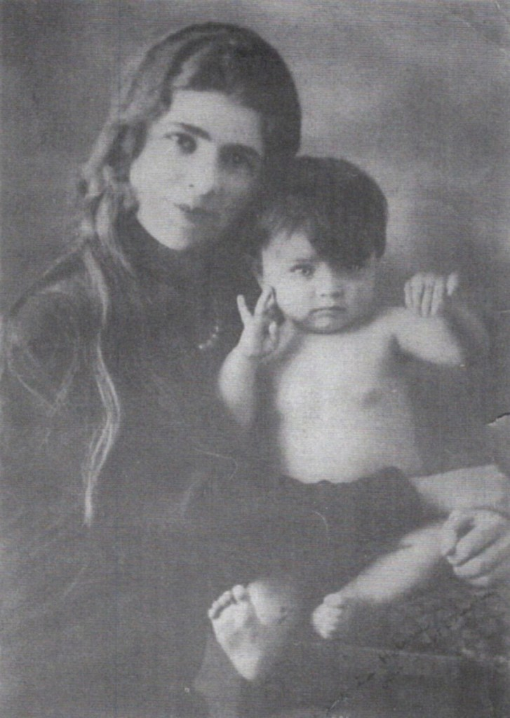 Tania and her mother Lilalia, Roumania 1930