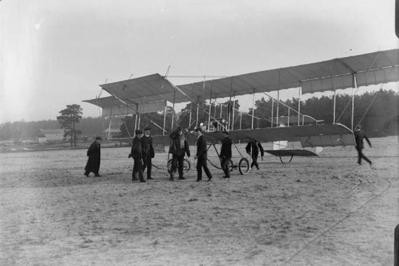 Maurice Farman Biplane