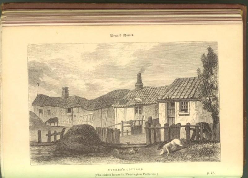 Tucker's Cottage, Oldest House in Kensington Potteries