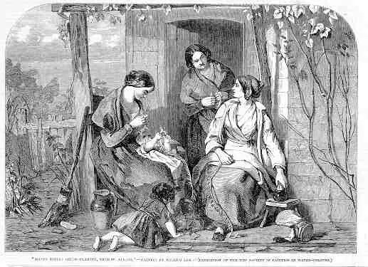 Straw Plaiting St Albans 1853