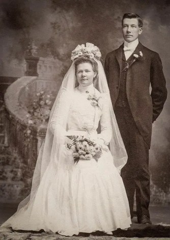 bride and groom form a central part of marriage records for genealogy