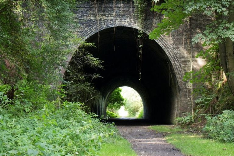 Your railway ancestors carved out tunnels