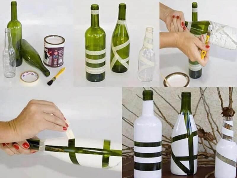 kerajinan bahan keras dari botol bekas