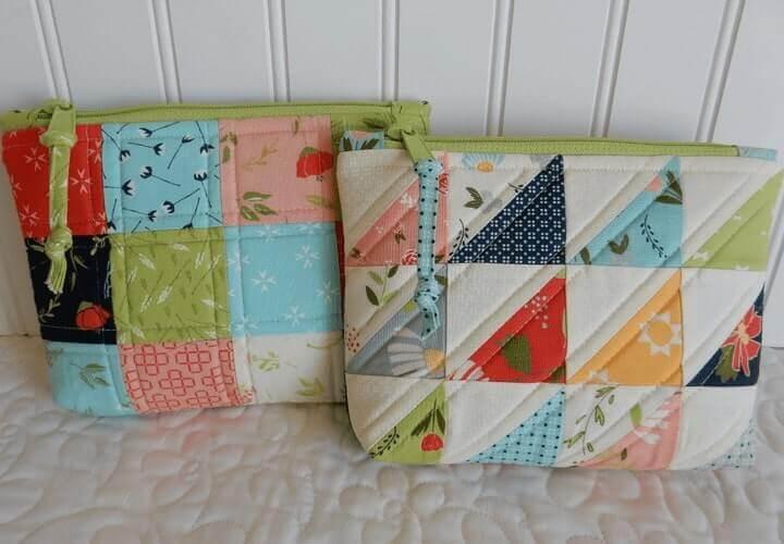 kerajinan tas sederhana dari kain perca