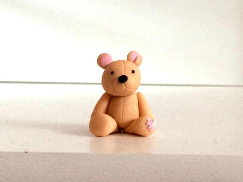 Beruang dari Flour Clay
