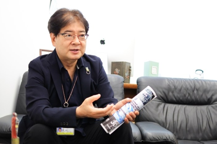 落谷孝宏教授。攝影 / 基因線上