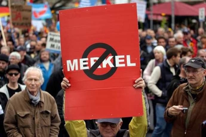 Vzkaz pro Merkelovou