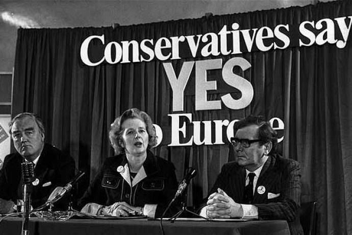Margaret Thatcherová, 1975