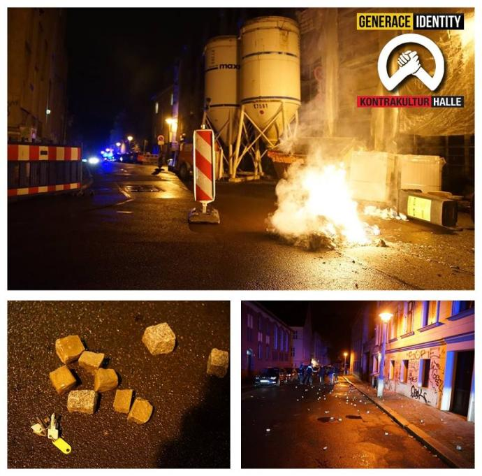 Po útoku Antify na Kontrakultur Halle