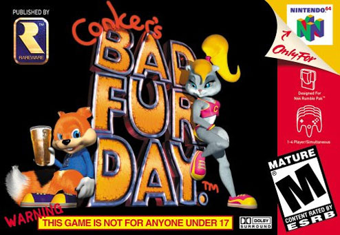 Reseña Conker's Bad Fur Day