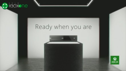 Ready when you are XBOX One