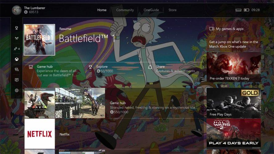 Esta es la nueva interfaz de Xbox One para usuarios Insider Preview