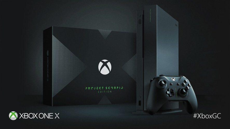 Xbox One X Project Scorpio Pachter gamestop