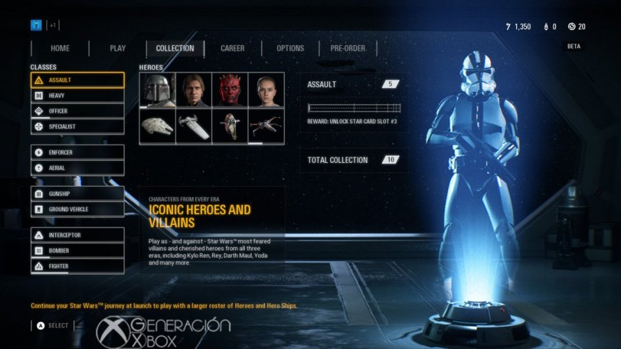 Impresiones Beta Star Wars Battlefront ii