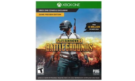 PlayerUnknown's Battlegrounds Xbox One carátula