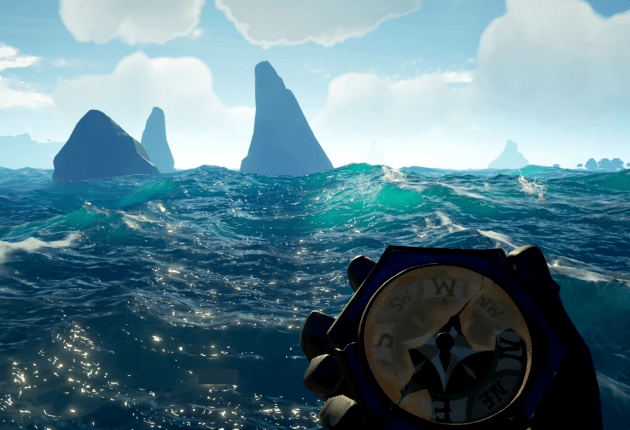 El mar en Sea of Thieves es espectacular.