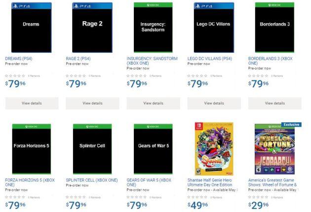 Walmart Canada se vuelve loca: Gears 5, Splinter Cell, Rage 2 o Dragon Quest 2 para Xbox One ya se pueden reservar