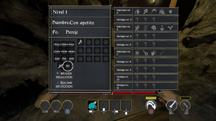 Características de personaje de Crimson Keep