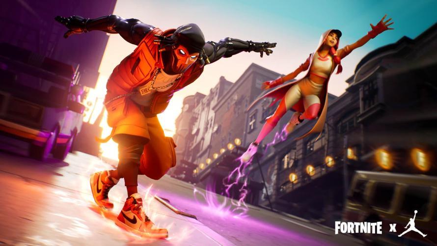 Fortnite y Air Jordan: una alianza que va más allá del videojuego