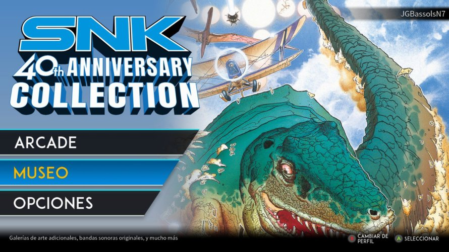 SNK 40th Anniversary Colection