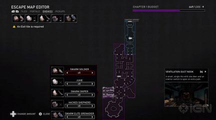 Enemigos del creador de mapas de Gears 5