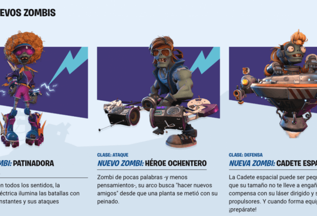 Nuevos Zombies