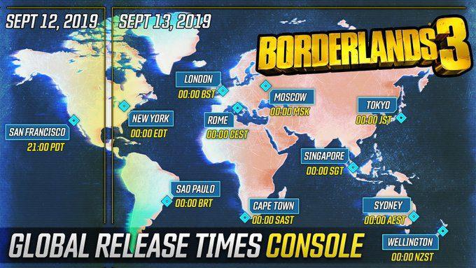 Borderlands 3 Consolas