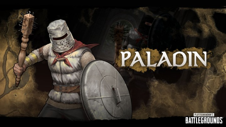 Paladín de Fantasy Battle Royale en Playerunknown's Battlegrounds
