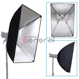 Softbox 80x120cm Rectangular Softbox with Bowens Mount Speedring and Bag By General Softbox 80x120cm Rectangular Softbox with Bowens Mount Speedring and Bag By General soft box 60x90 by general 3 300x300