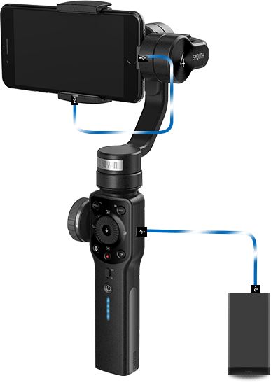 3-Axis Smartphone Stabilizer ZHIYUN Smooth4 3-Axis Smartphone Stabilizer ZHIYUN Smooth4 sm4 pc 06