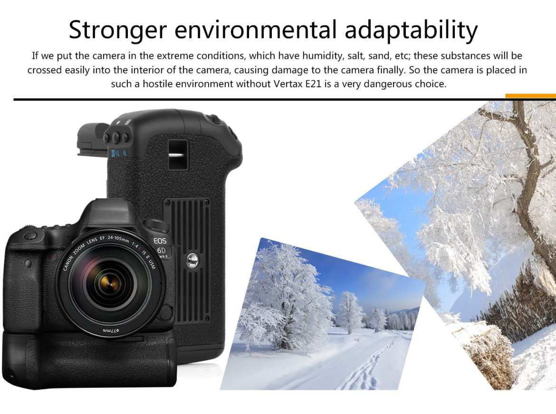 vertax e21 for canon 6dii Vertax E21 For Canon 6DII Battery Grip battery grip Vertax E21 For Canon 6DII mark 2 Pixel E6N battery 14