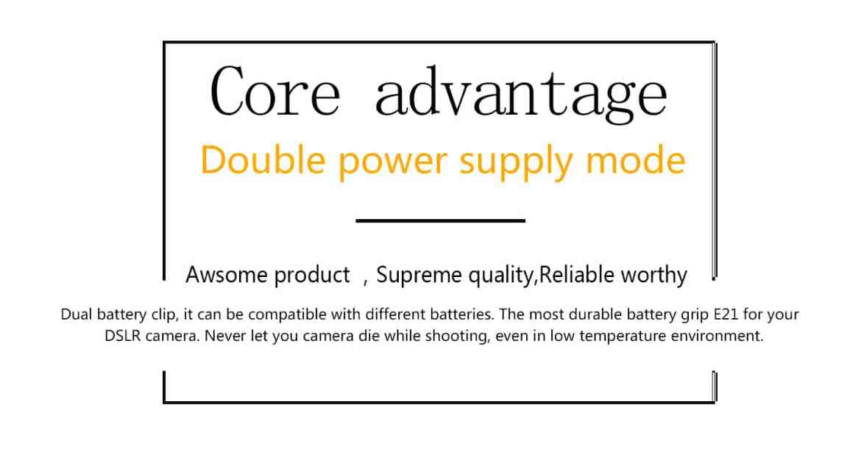 vertax e21 for canon 6dii Vertax E21 For Canon 6DII Battery Grip battery grip Vertax E21 For Canon 6DII mark 2 Pixel E6N battery 8