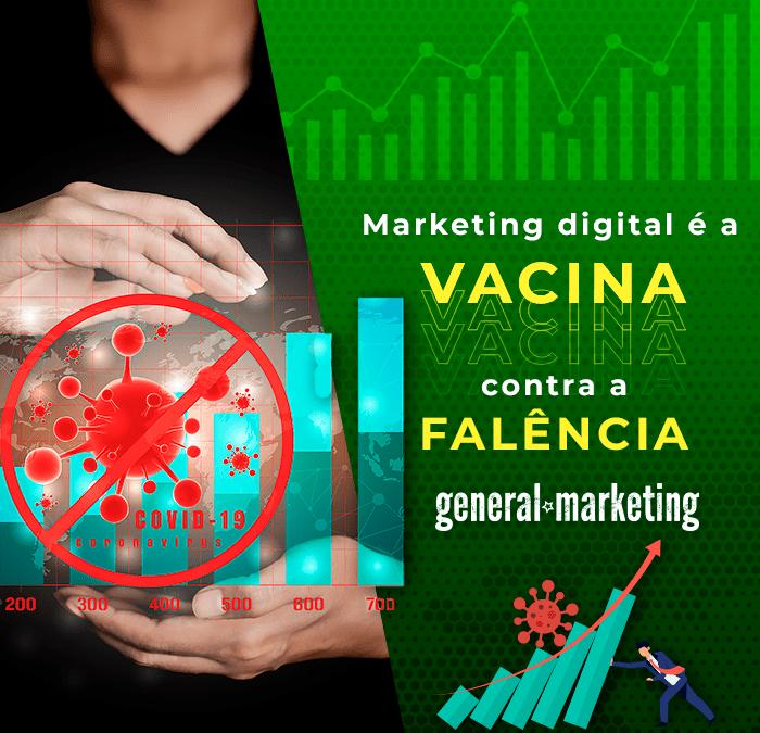 Marketing digital é a vacina contra a falência