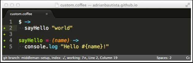 Sublime Text 3 Better CoffeeScript