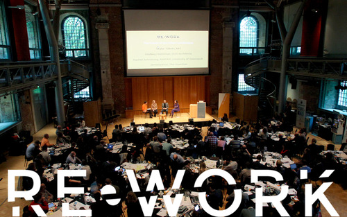 rework tech summit logo image