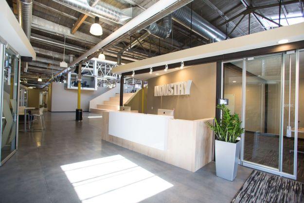 front desk at Industry in Denver