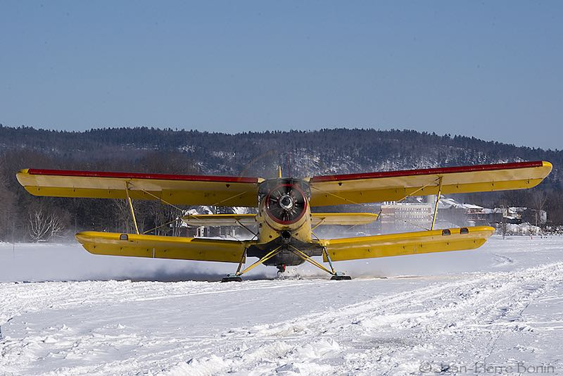 Antonov AN-2. Photo courtesy Jean-Pierre Bonin.