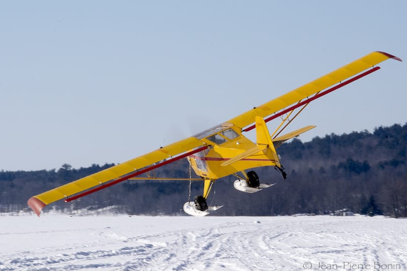 Kitfox Model IV. Photo courtesy Jean-Pierre Bonin.