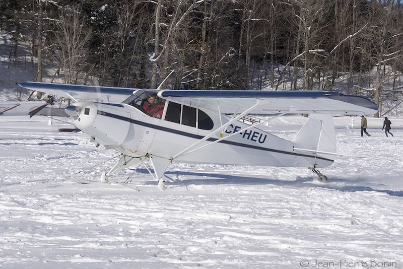 Piper PA-12 Super Cruiser. Photo courtesy Jean-Pierre Bonin.