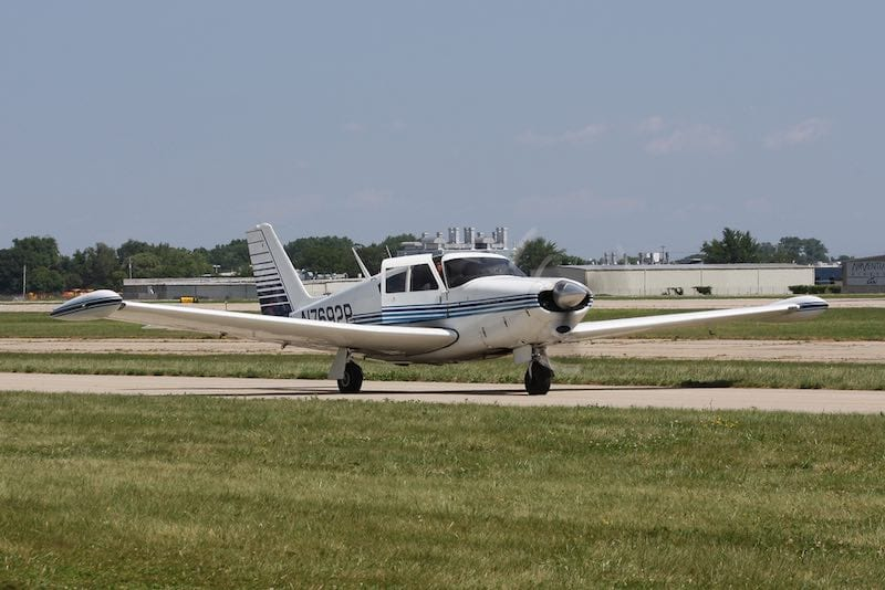 1961 Piper PA-24-250 Comanche. Photo by D. Miller.