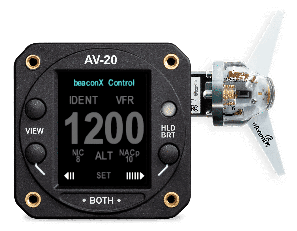 uAvionix AV-20 tailBeaconX Bundle